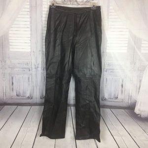Lambskin Leather Pants Sz 8 by Croft & Barrow